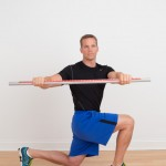 Dave Reddy combining a lunge with a twist