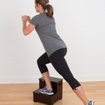 Stepping up and down is a natural physical ability everyone should work on during exercise
